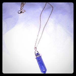Blue Graphite Grounding Necklace